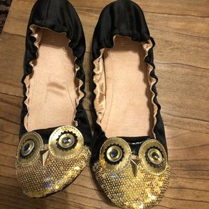 Kate Spade Owl Ballet Flats
